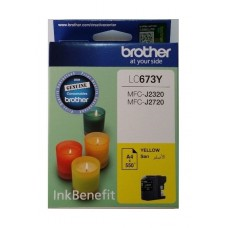 Brother LC-673Y Yellow ink cartridge